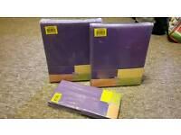 Argos colour match purple single duvet set