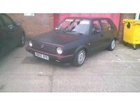 classic vw golf mk2 retro daily or ideal first car