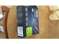 Asus Nvidia gt710 gddr5 2gb hardly used