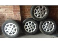 Alloy wheels to fit Ford - set of 4