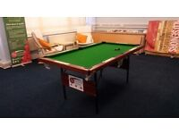 6ft FOLDING SNOOKER TABLE