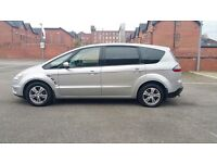FORD S-MAX 2008 TDCI DIESEL 7 SEATER FULL SERVICE HISTORY 6 SPEED GEAR ONLY 74000 QUICK SALE £3250
