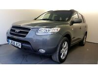 2008 | Hyundai Santa Fe | Automatic | Diesel | 7 SEATER | DVD REAR SCREEN| LEATHER |BARGAIN