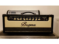 Bugera V22 Infinium guitar amp head. Perfect condition.