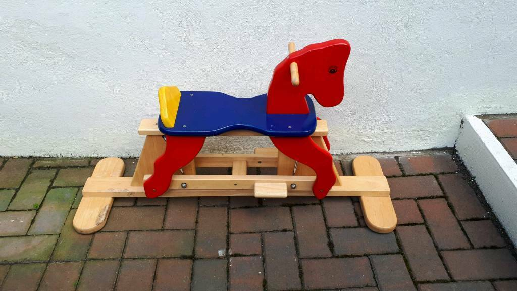Wooden Rocking Horse In Gateshead Tyne And Wear Gumtree