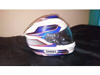 Shoei GT Air Inertia TC2 motorcycle helmet for Suzuki Honda Yamaha Kawasaki BMW Medium / Large