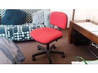 Red Chair for low desk | Excellent Condition
