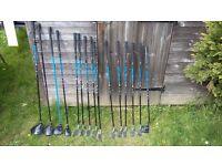 Jaxx 3 Junior Golf Clubs (Age 10-14) plus other clubs