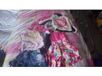 Girls clothes and shoes 1 to 4