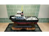Large Richardson RC Tugboat 2.4ghz RTR LIKE NEW
