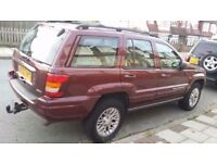 Jeep Grand Cherokee 2003 Automatic 2.7l diesel with MOT
