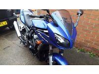 Yamaha Fazer 2002 blue