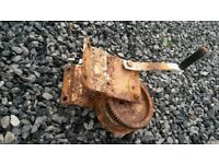 Hand cranked winch for boat, trailer etc