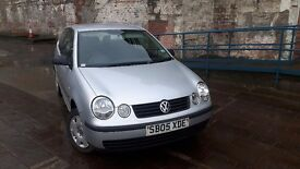 2005 vw polo e 1.2 3 dr 83k miles MOT DEC 2017 in good condition ideal first car £1500 ono