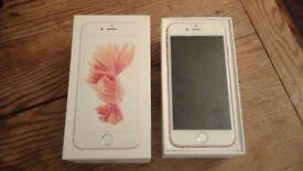 iphone 6s Rose Gold 16GB.