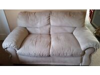 Very comfortable two-seater sofa