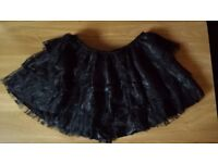 Zic Zac excellent quality black lace mini skirt-size M