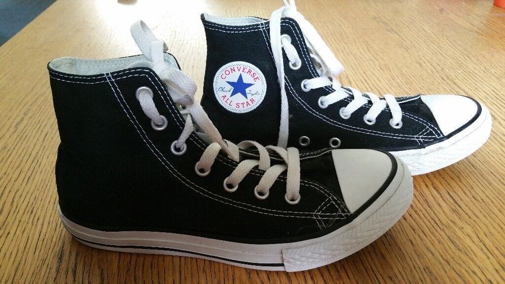 4b2f453dd37e Converse Boots - Black - Size 2