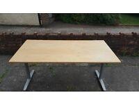Wide Wooden Desk