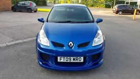 Renault Clio Dynamique S DCi 86 1.5 Diesel, Lovely Blue color with Body kit and Sunroof.
