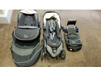 Silver Cross Pram / Car Seat / ISO FIX Base Travel System
