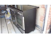Rangmaster pro ceramic 110 cooker for sale good condition