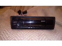 Sony face off car stereo