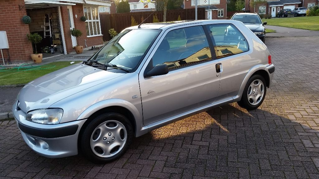 immaculate peugeot 106 quiksilver 1 4 cheap insurance in portlethen aberdeen gumtree. Black Bedroom Furniture Sets. Home Design Ideas