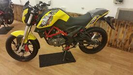NEW 2016 KSR Moto GRS 125cc Yellow