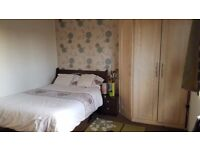 Corner wardrobe, double bed, one two drawer bedside drawers. £130