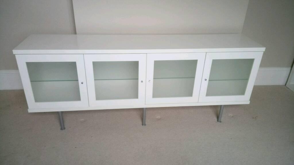 Ikea Bonde Sideboard White Good Condition In Milton