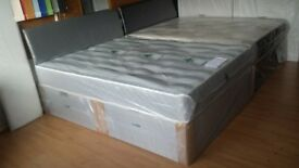 BRAND NEW Bed's with orthopaedic mattresses, single £85, double £109, king size £139, FAST DELIVERY