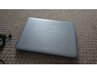 SONY VAIO LAPTOP VGN-NR38E, 4Gb RAM