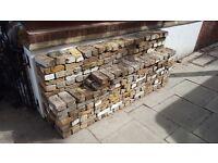 400 Reclaimed London multi stock imperial bricks