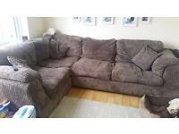 Charcoal Grey Corner Sofa