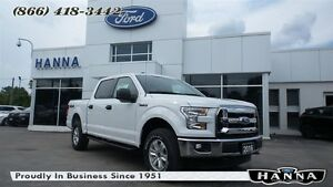 2016 Ford F-150 *NEW* SUPER CREW XLT *300A*4X4 5.0L V8 GAS