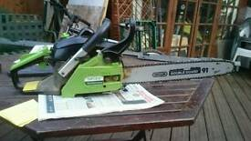 "16"" chainsaw spares or repair"
