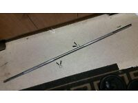 10kg Straight Barbell 69inch Weight Lifting Bar + Collars PLZ READ NO OFFERS