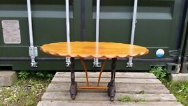 Old Vintage coffee table. Collection from Whitby North Yorkshire. Check out my photos.