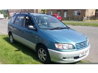 Toyota picnic 7 seater with full service history