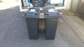 Brand new Wheely bins