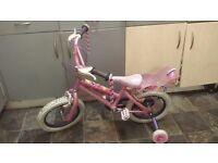 "Disney princesd bike. Approx 14"" wheel"