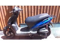 KYMCO AGILITY 125cc 4 STROKE 2008 NOT A CHINESE MAKE