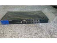 Linksys unmanaged 24 port switch