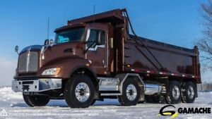 2012 KENWORTH T440 12 WHEEL TWIN STEER DUMP TRUCK