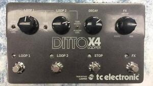 Superbe pédale de looper TC Electronic modèle Ditto X4 Z006291