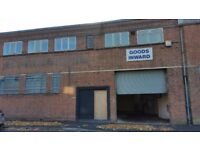 Approx 2500 sq ft unit to let near Birmingham ciry centre(NO GARAGE OR MOTOR TRADE)
