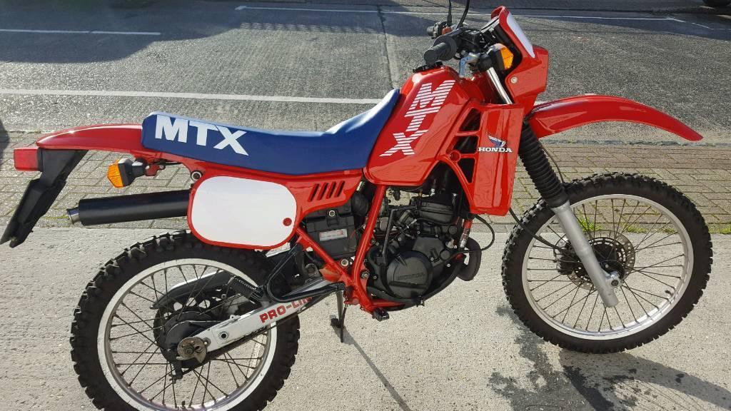Honda mtx 125R WH 1987