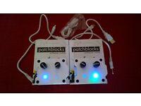 Patchblocks mini modular synthesizer synth