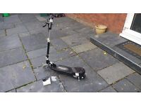 Electric scooter used once excellent condition
